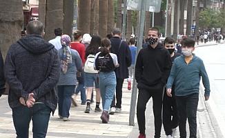Maske ve sosyal mesafe kuralına uymayan bin 316 kişiye 1milyon 118 bin 360 TL ceza