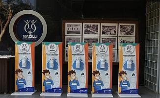 Nazilli Belediyesi'nin yüzyüze eğitime desteği sürüyor