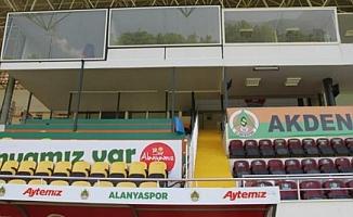 Oba Stadyumu'nda bakım çalışmaları tamamlandı