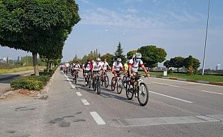 Pedallar spor haftası için çevrildi