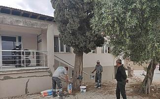 Saruhanlı Belediyesi Kur'an kursunda tadilat başlattı
