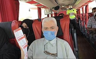 Şehirler arası seyahate HES kodu ve maske kontrolü