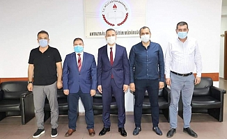 Türkdoğan ve ekibinden Er'e ziyaret