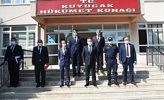 Vali Aksoy, Kuyucak'ı Ziyaret Etti