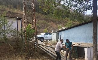 Yenilenen sulama tesisine büyükşehirden destek