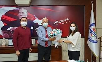 Başhekim Çavuşoğlu'ndan Başkan Posbıyık'a ziyaret