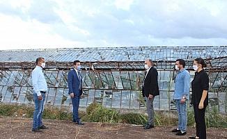 Başkanvekili Hacıarifoğlu Kumluca'da incelemelerde bulundu