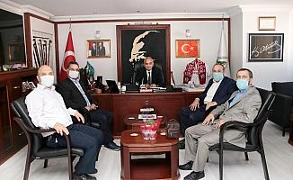 Diva-Sen'den Başkan Bozkurt'a ziyaret