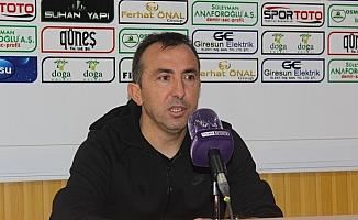 Giresunspor - Ümraniyespor maçının ardından