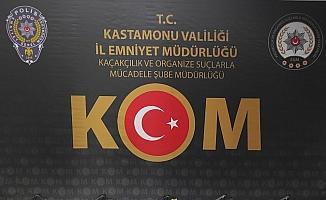 Kastamonu'da silah kaçakçılarına operasyon: 2 tutuklu