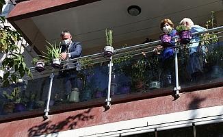 """Kocaelili yaşlılar """"Şifalı Balkonlar"""" ile nefes alacak"""