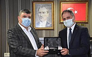 """STK başkanlarından Bozkurt'a """"hayırlı olsun"""" ziyareti"""