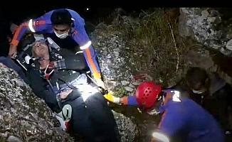 Balık tutarken suya düşen yaşlı adamı AFAD ekibi kurtardı