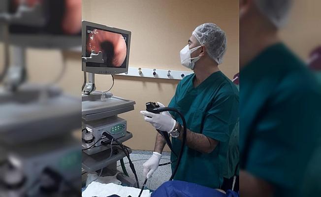 Didim Devlet Hastanesi'nde endoskopi ve kolonoskopi yapılmaya başlandı