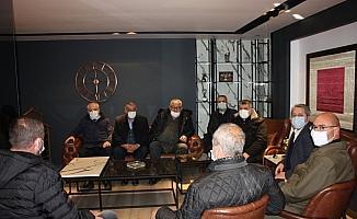 Düzcespor'dan Ertan Taşlı'ya ziyaret