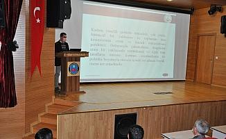 Simav'da 'Kadına yönelik şiddetle mücadele' semineri