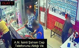 Telefon hırsızı yakalandı
