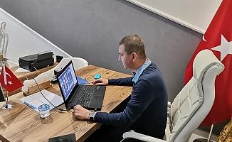 Alanya MHP Yönetimi online toplandı