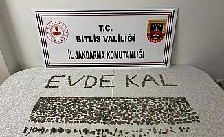 Bitlis'te tarihi eser kaçakçılığı operasyonu