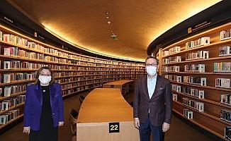 Gaziantep Büyükşehir Belediye Başkanı Fatma Şahin, Başakşehir'i ziyaret etti