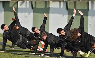 Namağlup Manisa FK, Uşakspor maçına hazırlanıyor