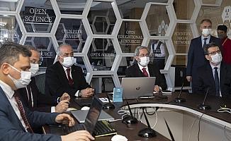 Ankara Üniversitesi Rektörü Prof. Dr. Necdet Ünüvar, Atatürk Üniversitesinin konuğu oldu