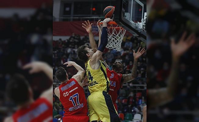THY Euroleague: CSKA Moskova: 83 - Fenerbahçe Beko: 89