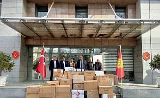 Türkiye'den Ahıskalı Türklere tıbbı malzeme yardımı