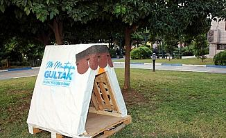Akdeniz Belediyesi, sokak hayvanları için yuva yapıyor