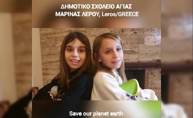 Ayvalık'ta eTwinning projesi Türk, Yunan ve Rumen öğrencileri bir araya getirdi