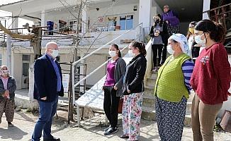 Başkan Gümüş 9 mahalleyi ziyaret etti