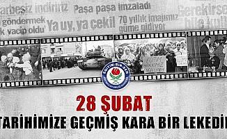 """Başkan Razaman Acar: """"28 Şubat her zaman öfte ve nefretle anılacaktır"""""""