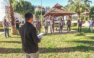 Belediye çalışanları güne güvenle başlıyor