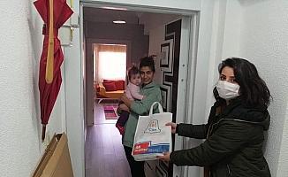 Çan Belediyesi 'hoş geldin bebek' projesi devam ediyor