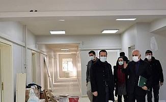 Vali Şentürk, YEDAM inşaatında incelemede bulundu