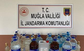 112 litre kaçak alkol ele geçirildi