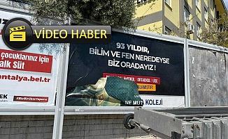 Alanya Atatürk posteri yırtılması olayında flaş gelişme