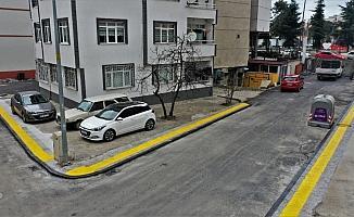 Altınordu'da sokak ve caddeler modern görünüme kavuşuyor
