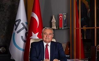 """ATSO Başkanı Çetin: """"Hizmet sektöründeki yüzde 4,3 daralma Antalya'da derinden hissedildi"""""""