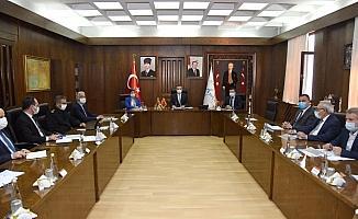 Aydın'da normalleşme toplantısı yapıldı