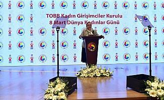 """Bakan Pekcan: """"Son 15 yılda işveren kadın sayımız 49 binden 129 bine ulaşmıştır"""""""