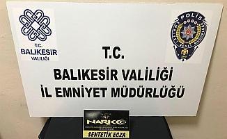 Balıkesir'de polis 91 uyuşturucu şüphelisini yakaladı