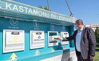 """Başkan Vidinlioğlu, """"Kastamonu'da atıklarında sadece yüzde 2'sini geri dönüştürebiliyoruz"""""""