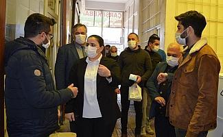 Besni ilçesinde Korona Virüs denetimi yapıldı