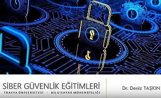 Bilgi İşlem Daire Başkanlığına 'Siber güvenlik' eğitimi