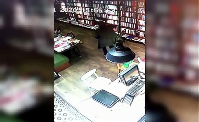 Bilgisayar ve telefon hırsızlığı kamerada