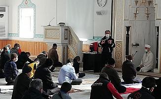 Camide vatandaşlara afet eğitimi