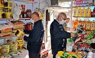 Ergani'de zabıta ekiplerinden gıda denetimi