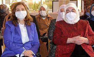 Erzincan'da girişimci kadınların el emeği göz nuru ürünlerinin yer aldığı Kadın Kültür Merkezi açıldı