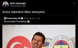 """Fenerbahçe'den Emre Belözoğlu açıklaması: """"Asılsız haberlere itibar etmeyiniz"""""""